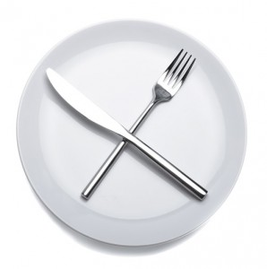 Fasting using techniques such as water diet